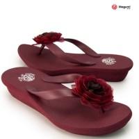harga Sandal Megumi Dahlia Maroon (B4001) - Murah Export Jepang Tokopedia.com