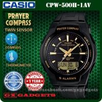 CASIO Prayer Compass CPW-500H-1AV Jam Tangan Pria