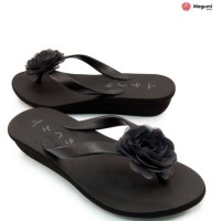 harga Sandal Megumi RoseHitam (W021) - Murah Export Jepang Tokopedia.com