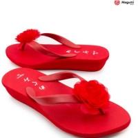harga Sandal Megumi Rose Merah (W021) - Murah Export Jepang Tokopedia.com