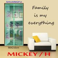 TIRAI PINTU MAGNET SHUANG FU - MICKEY MOUSE