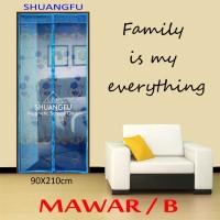 TIRAI PINTU MAGNET SHUANG FU - MAWAR