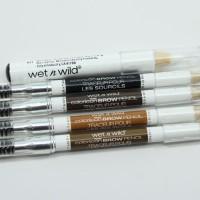 WET N WILD COLOR BROW ICON-Pencil Alis & Brush Waterproof