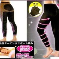 SLIMMING NIGHT Legging / Black Only / BAHAN TEBAL