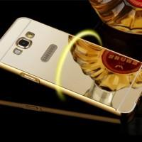 Mirror Bumper Case Galaxy E5 E500 Aluminum Hard Back Case