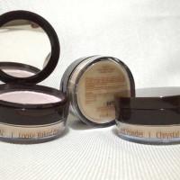 Harga immortal loose baked powder chrystal natural bedak tabur | antitipu.com