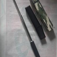 64 cm baton stick besi padat tongkat pukul toya gta pes 2016 logam yrg