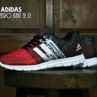 Sepatu Adidas Adizero Knit 2.0 Red / Merah / Sport / Kets / Casual