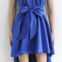 A5-1020-Biru/Baju Pesta/Dress Hijau/Dress Mewah/Dress Duyung/Remaja