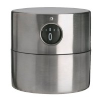 IKEA ORDNING Timer 6x6 cm Stainless Steel