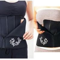 Jual 4 Steps Slim Waist Belt Hot Shapers / Korset Pelangsing Pria & Wanita Murah