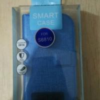 Flip Shell - Samsung Galaxy Fame (S6810) (Light Blue)