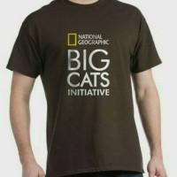 Kaos/T-Shirt/Baju NATIONAL GEOGRAPHIC BIG CATS