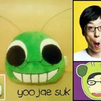 boneka bantal korea running man yoo jae suk / kado hadiah murah
