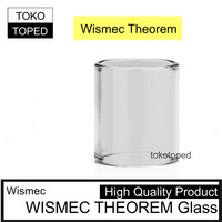 Replacement Glass Tank for WISMEC THEOREM | High Quality tube