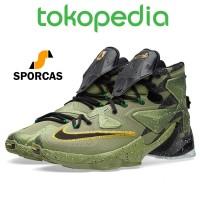 6d854ea3d51 Sepatu Basket Lebron 13 Xiii Asg All Star Aligator Green