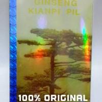 Jual Ginseng Kianpi Pill Kilat / Kianpi Gold - Original Hologram !! Murah