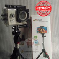 Benro Smart Mini Tripod,Monopod,Tongsis untuk HP, Camera, GoPRO MK10