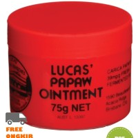 Jual READY STOCK - Salep / Lipbalm Lucas Papaw Ointment 75g Murah
