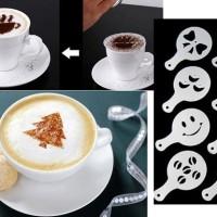 Jual alat cetakan kopi coffee tea printing cappuccino latte mold maker Murah