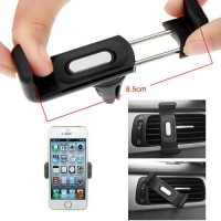 Car Holder Handphone Jepitan Handphone pada Kisi AC Mobil