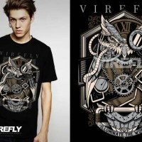 KAOS DISTRO ORIGINAL VIREFLY PREMIUM APPAREL VF-27