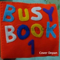 busy book 1 / quiet book / flanel book