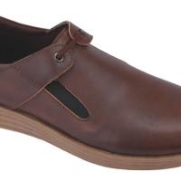 Sepatu Formal Kantor Sintetis (anz) MP 133C - Coklat