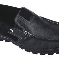 Sepatu Formal Kantor Kulit (anz) MR 743C - Hitam
