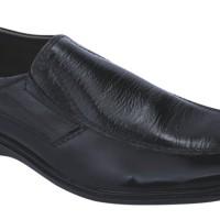 Sepatu Formal Kantor Kulit (anz) MP 142C - Hitam