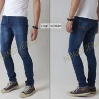 harga Celana Jeans / dry denim Nudie Model Skinny / Pensil Cowok / Pria - 08 Tokopedia.com