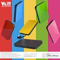 YELL Energy Pocket Lightning Portable 6000mAh Powerbank Original