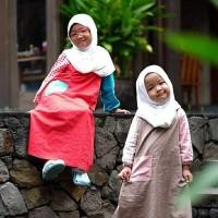 Abaya Gamis Anak Katun by Little MissMos