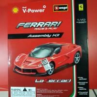 Burago Shell V-Power Ferrari Assembly Kit LaFerrari