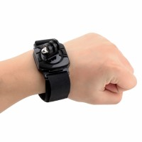 Rotation 360 Degree Wrist Hand Strap Band Mount For Gopro, Xiaomi Yi