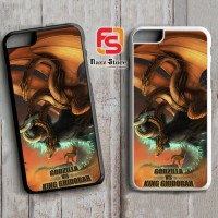 Godzilla VS KING GHIDORAH Y1841 iPhone 4(S), 5(S),5C, 6(S), 6(S) Plus