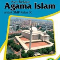 AYO BELAJAR AGAMA ISLAM SMP JL.3- buku erlangga