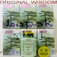 Ginseng Kianpi Pil WISDOM - Obat Gemuk / Penambah Nafsu Makan