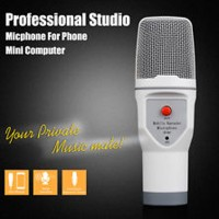 harga Mini Mic Microphone Hp Pc Laptop Mikrofon Handphone Mike Karaoke Smule Tokopedia.com
