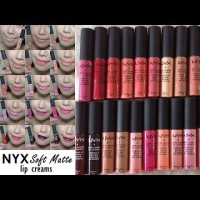 NYX Soft Matte Lip Cream - CANNES 100% ORIGINAL