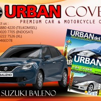 SUZUKI BALENO DELUXE BLACK SILVER COVER SELIMUT MOBIL URBAN ANTI AIR