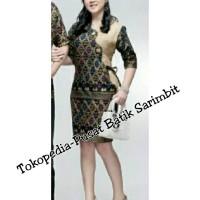 Setelan Rok Sepan 063 Batik Wanita Formal Seragam kantor modern