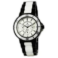 Jam Tangan Original Devond L3182B Kombinasi Keramik Putih