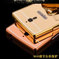 OPPO FIND 7 x9007 Aluminum Metal Bumper Mirror Plating Hard Back Case