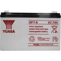 harga Aki (Baterai) Vrla Ups Kering (Mf Battery) Yuasa 6 V 7 Ah Tokopedia.com