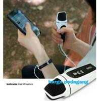 Mic Genggam 3.5mm Mini Singging Karaoke Microphone Mic Hp Pc Laptop