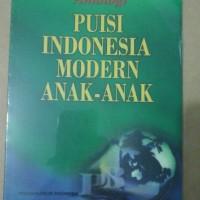 Antologi Puisi Indonesia Modern Anak-anak