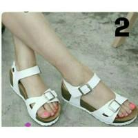 Sandal Carvil Tali Putih