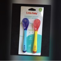Sendok Sensor Panas Safety Spoon Little Baby isi 2 BPA FREE