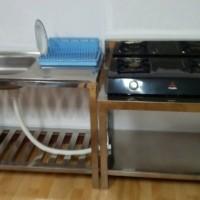 harga 2set,meja kompor dan bak cuci piring Tokopedia.com